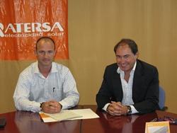 Firma de acuerdo entre Prosolia y Atersa