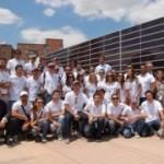 La casa solar obra de los estudiantes de Arquitectura de la Universidad CEU Cardenal Herrera, en la 5ª Conferencia Mundial sobre Conversión de Energía Fotovoltaica
