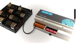 Primer telemando vía radio bidireccional de larga distancia con pilas