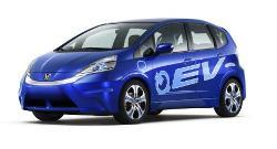 Presentación mundial del vehículo eléctrico Honda Fit EV Concept y la plataforma híbrida de conexión en el Auto Show de Los Ángeles
