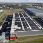 Nazca inaugura su primera central fotovoltaica en una plataforma logística