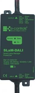 E-Controls presenta un nuevo controlador de luminarias DALI para alumbrado público