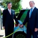 Siemens confía en Mercedes los primeros coches de su flota eléctrica
