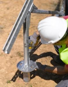 MECASOLAR presenta en INTERSOLAR su nuevo tornillo universal de cimentación MECASCREW