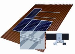 La mejor elección para cubiertas industriales: nueva solución para recubrimientos con chapa trapezoidal Conergy SunTop Trapez