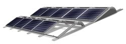 Ingeniería aeronáutica para cubiertas planas: nueva solución Conergy Solar Famulus Air Sistema con baja carga y sin necesidad de perforar para tejados laminados