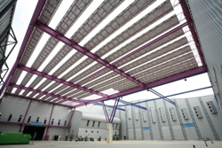 La planta solar de Fycma evita la emisión de 283 toneladas de co2 a la atmósfera en sus tres primeros años de funcionamiento