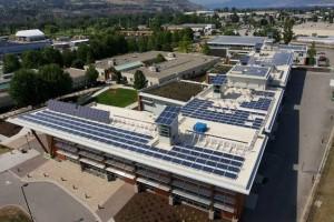 Los estudiantes del Okanagan College (Canadá) disfrutarán de la energía solar proporcionada por 1.106 módulos Conergy