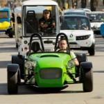 Cuarenta vehículos eléctricos participan en la primera Ruta Eléctrica entre Barcelona y el Circuito de Catalunya