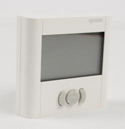 Mayor ahorro energético con los nuevos termostatos digitales de Uponor