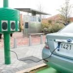 Vehículos Eléctricos Renovables inaugura su primera unidad del Sistema PEySI en el Centro Comercial Tres Aguas del municipio de Alcorcón