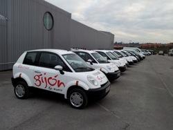 El ayuntamiento de Gijón incorpora coches eléctricos y gestionará su flota municipal bajo la modalidad de uso compartido