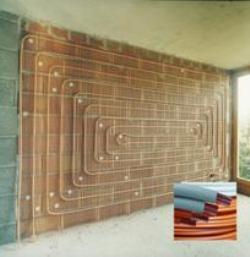 Calefacción por pared radiante con tubos de cobre: una solución eficiente y de ahorro para el hogar