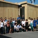 Éxito de la primera prueba de construcción de la casa solar SMLsystem, obra de los estudiantes de Arquitectura e Ingeniería de la Universidad CEU Cardenal Herrera