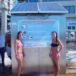 Gaélica Solar lanza al mercado el primer secador solar para bañistas alimentado por energía solar