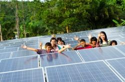 Conergy inaugura una planta fotovoltaica en una escuela-orfanato de Tailandia