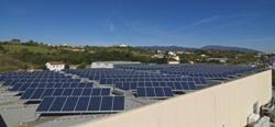Inaugurada la primera planta fotovoltaica de autoconsumo industrial en España