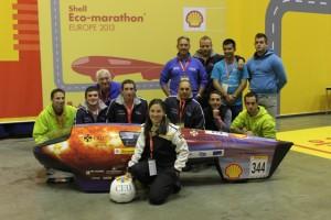 El coche eléctrico español IDEA CEU Car, tercero en la competición europea más importante de vehículos ecológicos, en la categoría de coches eléctricos