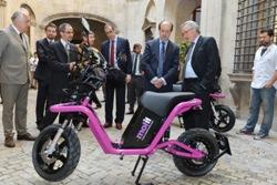 Barcelona incorpora MOTIT, el primer servicio de moto eléctrica compartida