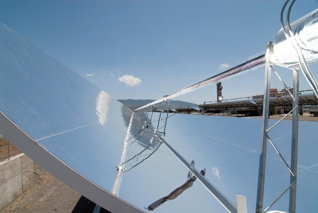 Inauguración de nuevas instalaciones en la  Plataforma Solar de Almería