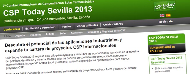 CSP TODAY SEVILLA 2013