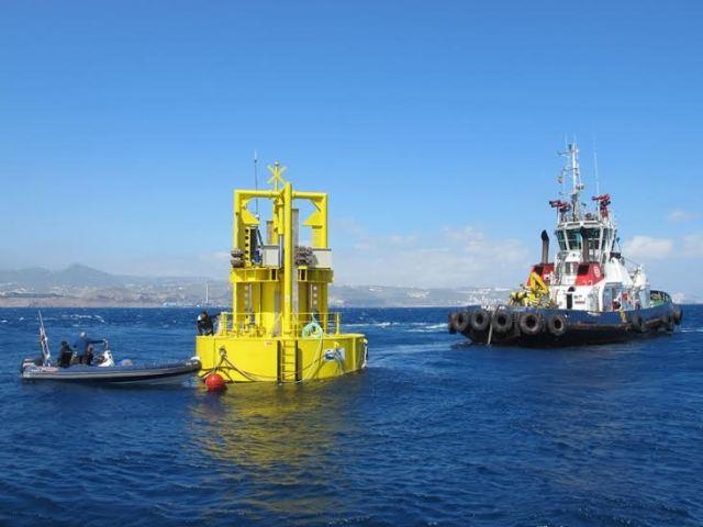 UNDIGEN prueba la generación de energía eléctrica de las olas en Gran Canaria