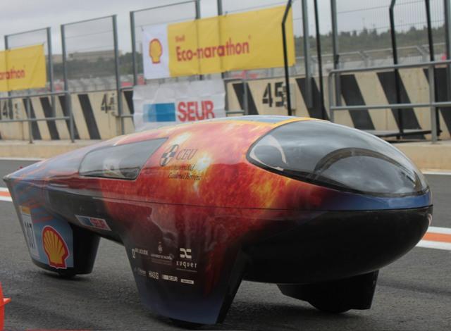 El coche eléctrico IDEA CEU Car vuelve por cuarto año consecutivo a la competición europea de tecnología energética en Rotterdam