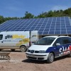 Factura eléctrica cero para una granja porcina gracias a su instalación fotovoltaica aislada