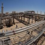 Suministro de electricidad en el desierto de Libia