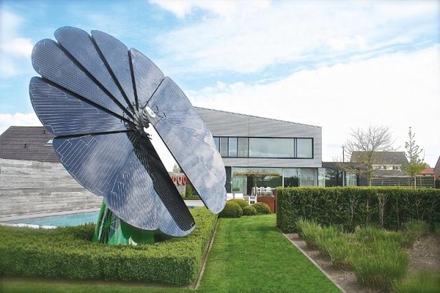 """smartflower POP+ con almacenamiento de batería - la solución solar completa """"todo en uno"""""""