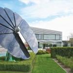 """El """"girasol fotovoltaico"""" que genera y almacena energía a la vez"""
