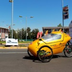 Autos solares demostraron su eficiencia en pista de Movicenter