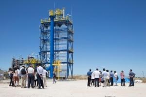 Configuración innovadora para una planta termosolar híbrida totalmente renovable