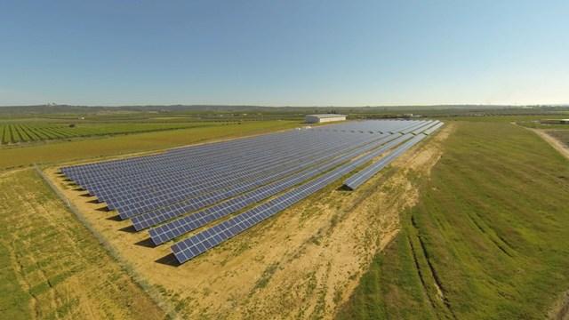 Dos mil personas completan la primera planta solar colectiva con dos millones de euros de inversión