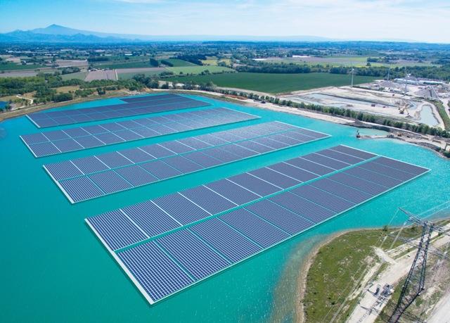 Trina Solar suministra 17 MW al sistema fotovoltaico flotante más grande de Europade Europa