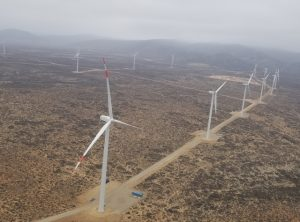 Parque Eólico Sarco completa la instalación del 100% de sus turbinas