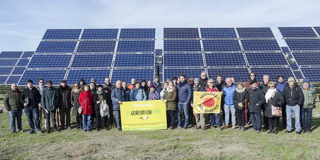 Las 3.745 personas de la Generación kWh de Som Energia ponen en marcha una nueva planta solar de autoproducción colectiva
