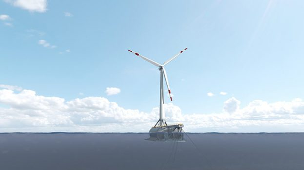 Saitec y BiMEP firman el contrato para instalar el primer aerogenerador flotante conectado a la red del País
