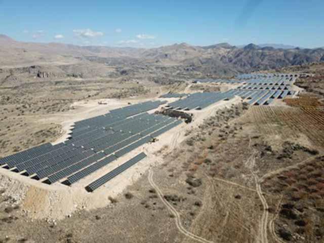 Vayots Arev-1 Solar Farm in Armenia