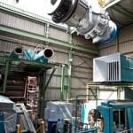 La primera sustitución «de brida a brida» del mundo de una turbina de gas GE Frame 6B