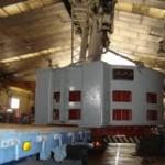 Electro Naval S.A. repara una de las máquinas eléctricas de mayor tamaño del sector industrial Andaluz