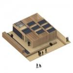 Avanza la construcción de la única vivienda valenciana autosuficiente mediante el consumo de energía solar que participará en el próximo Solar Decathlon Europe 2012