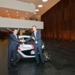 Car Sharing Navarra cierra el primer acuerdo comercial con la empresa Navarra ENECSA