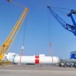 Rhenus convierte a Cuxport en el puerto clave para operativas especiales del sector eólico
