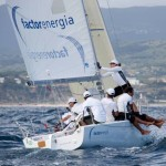 Factorenergia patrocina de nuevo el velero J80 de José María van der Ploeg en las regatas del Campeonato de Europa y de la Copa del Rey