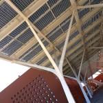 La Universidad Politécnica Mohamed VI en Marruecos ya cuenta con una moderna pérgola fotovoltaica de Onyx Solar
