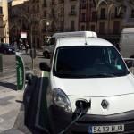 Inauguración 4 puntos de recarga de vehículo eléctrico en Alcoy (Alicante)