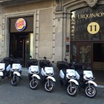 Burguer King se suma a las entregas limpias con seis scooters eléctricos
