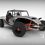 Llega el 'eBuggy Naja', vehículo deportivo eléctrico y ecológico con baterías de grafeno
