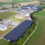 El Grupo GEFCO, EDJ (Energie du Jura) y BKW inauguran la central fotovoltaica sobre mallas de sombreo más potente de Suiza